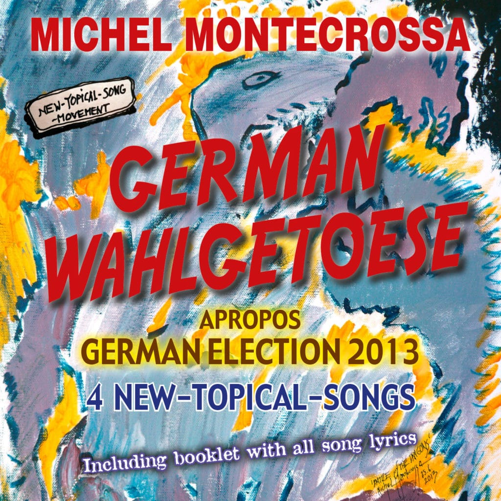 German Wahlgetoese, Audio-CD