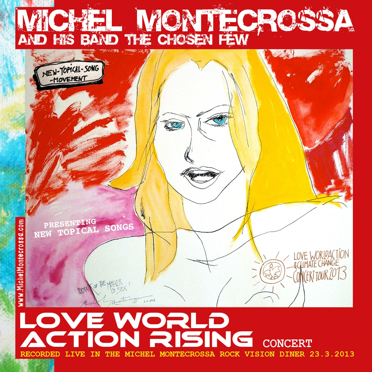 Love World Action Rising, Audio-CD