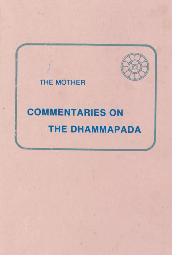 Commentaries on the Dhammapada