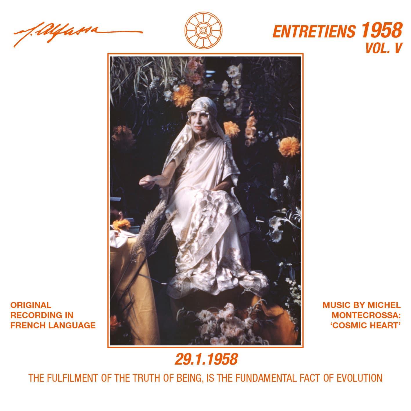 Entretiens Vol. 5 - 29.1.1958