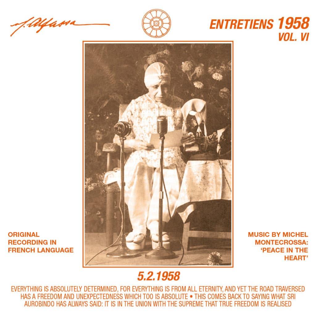 Entretiens Vol. 6 - 5.2.1958