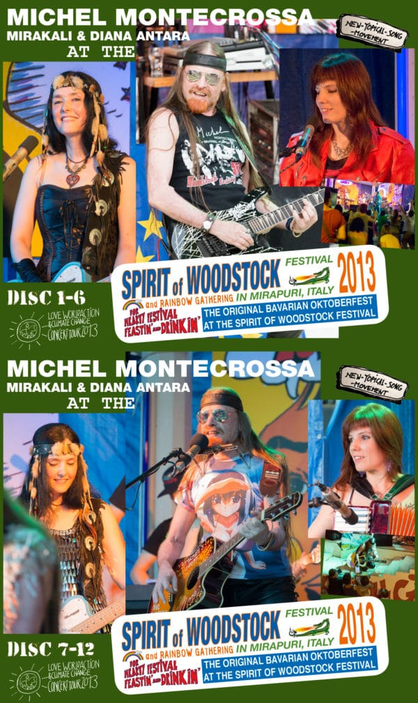 Spirit of Woodstock Festival 2013 in Mirapuri, Italy