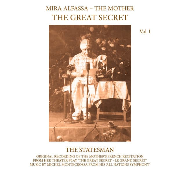 The Great Secret, Vol 1: The Statesman