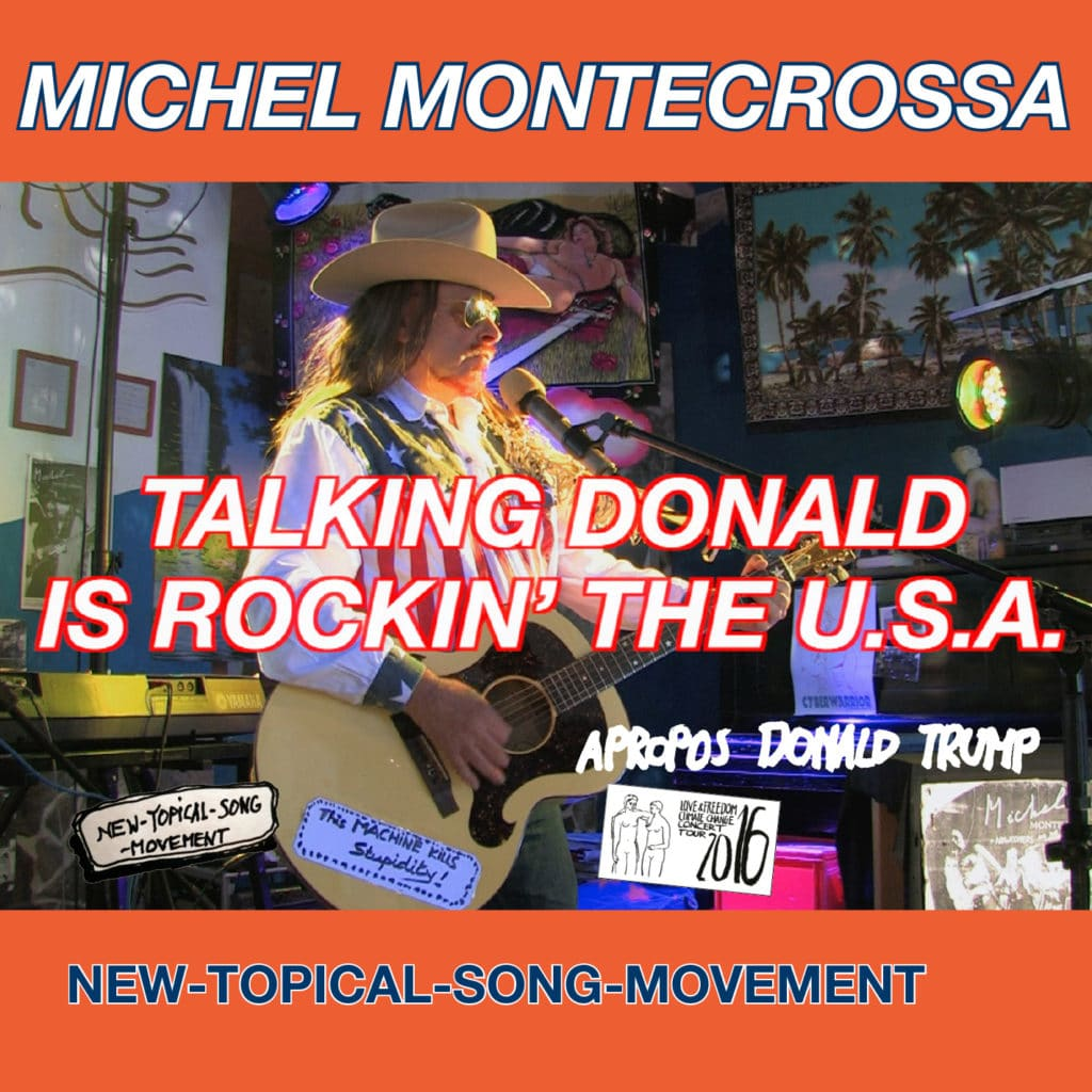 Talking Donald is rockin' the U.S.A.,