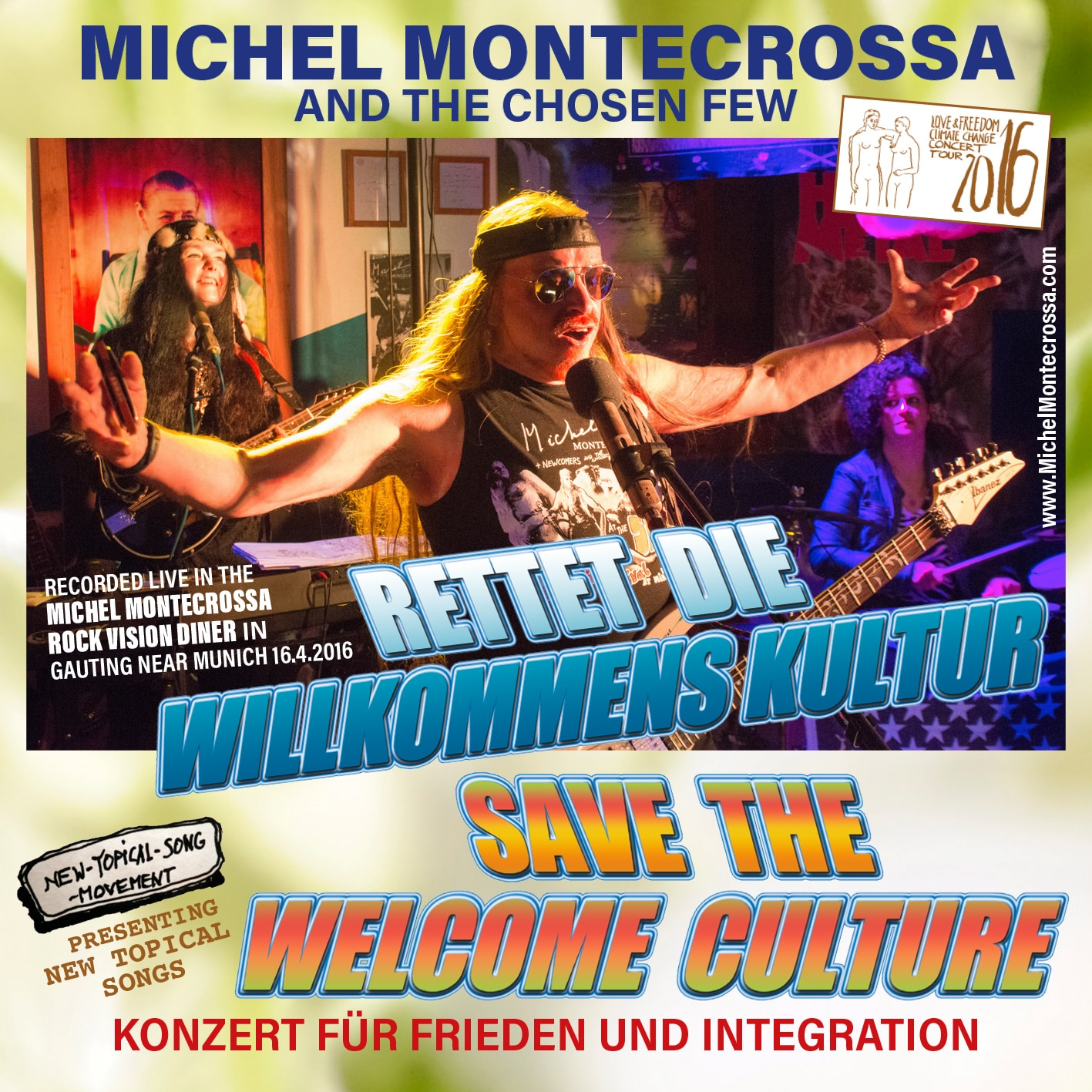 Rettet die Willkommens Kultur - Save The Welcome Culture Concert