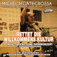 Rettet die Willkommens Kultur Radiokonzert bei Radio Fips