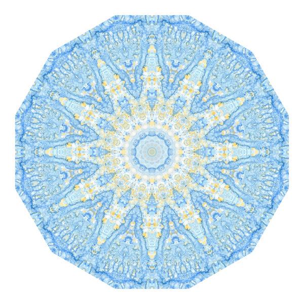 Blaues Aquarell 02