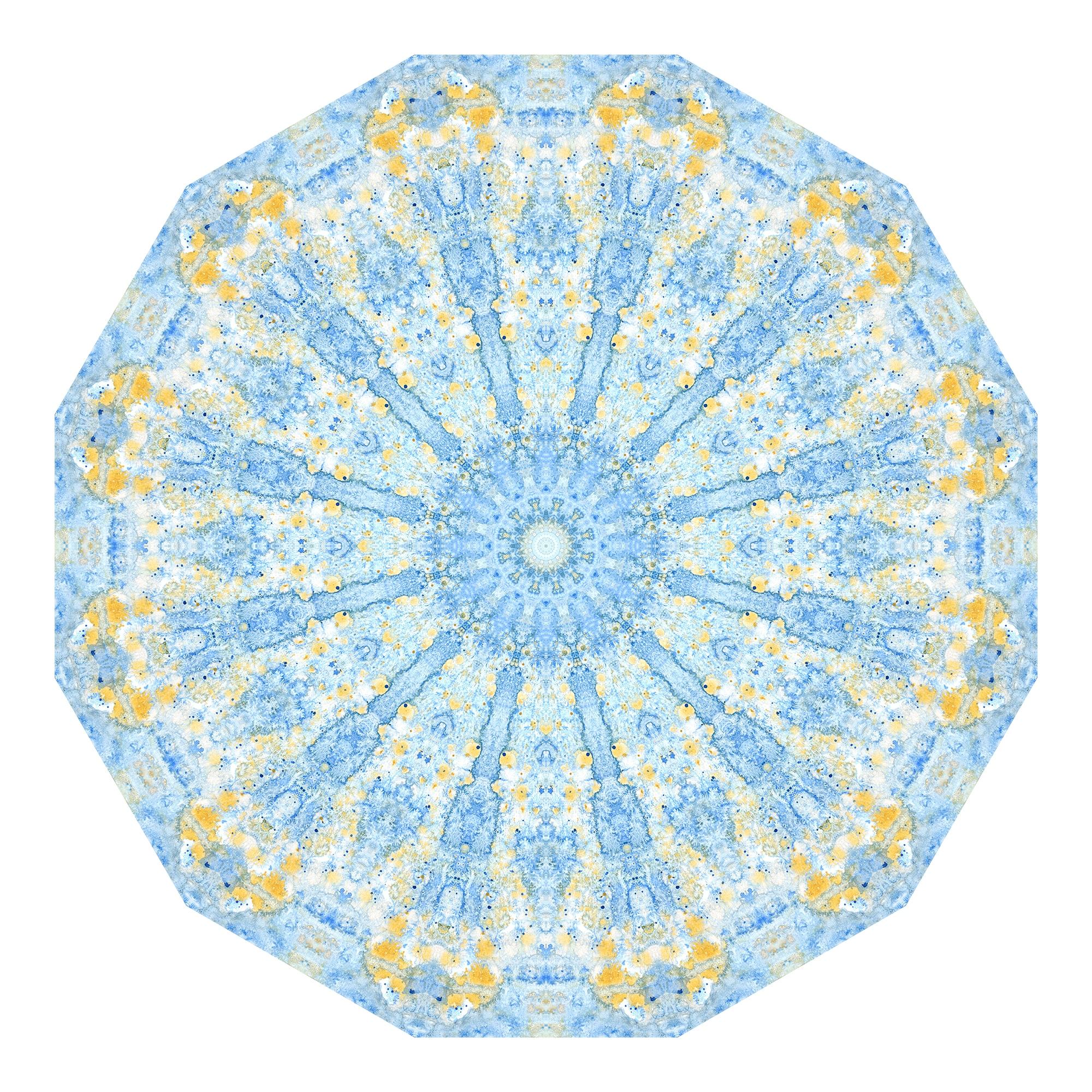 Blaues Aquarell 03