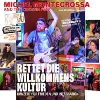Rettet die Willkommens Kultur Konzert für Frieden und Integration im Cafe Bar Mellow
