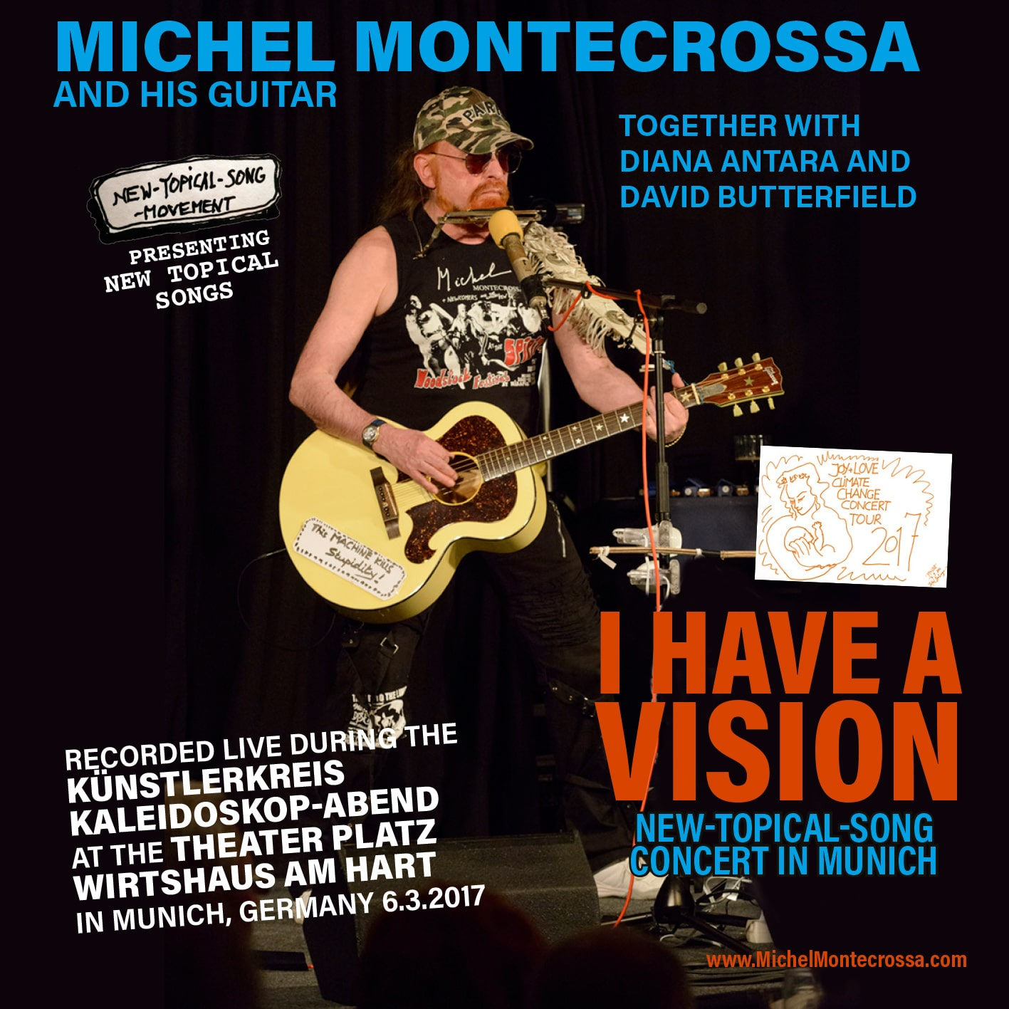 I Have A Vision New-Topical-Song Concert