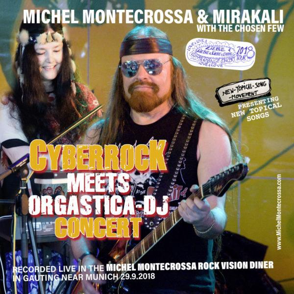 Cyberrock Meets Orgastica-DJ Concert