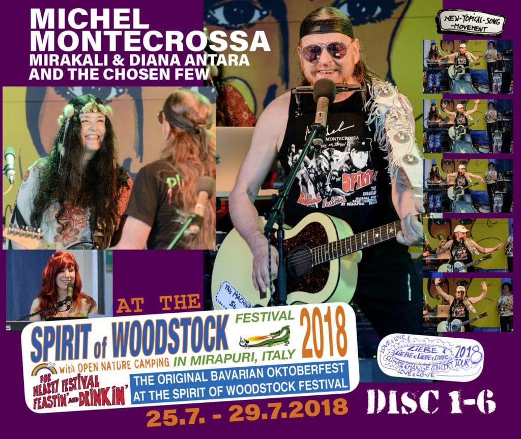 Spirit of Woodstock Festival 2018: Disc 1-6,