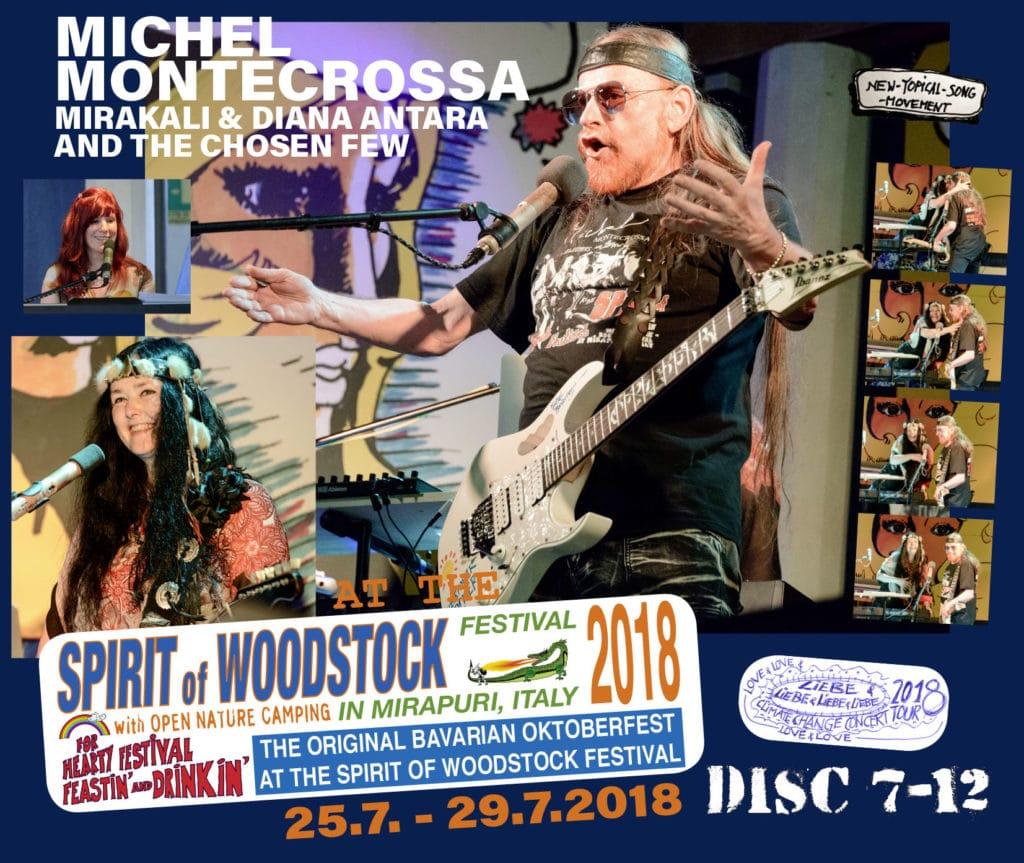 Spirit of Woodstock Festival 2018: Disc 7-12